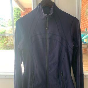 Blue Lululemon Define Jacket Size 8